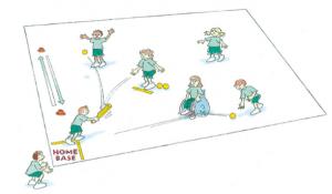 Norges Softball og Baseball-Slaball blastball